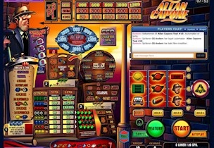 Inspection of online gambling systems and slot machines