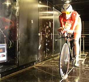 Team Danmark, vindtunnel test, 2016 OL, cykelhold, FORCE Technology, vindmodstand, vindtunnel facilitet ,, OL 2016, aerodynamisk test,
