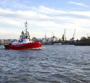 Tug in a port, FORCE Technology