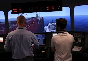 ship to ship, simulation, FORCE Technology, marine