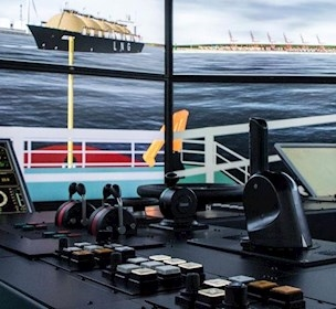 ship bridge simulator, FORCE Technology,Ship simulator, simulator training